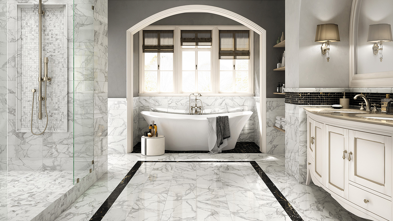 Porcelain Tiles, a low-maintenance solution for your floor - Mirage USA